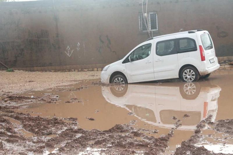 Mahalle sakinlerinin çamur çilesi