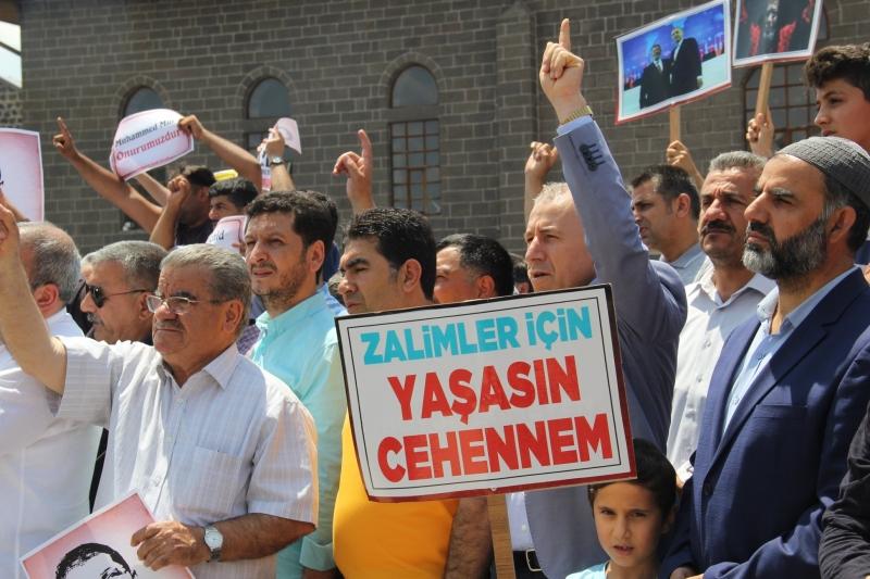 Diyarbakır'da Muhammed Mursi için gıyabi cenaze namazı ve basın açıklaması düzenlendi