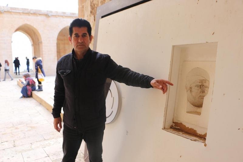 600 yıllık 3 boyutlu portre görenleri hayrete düşürüyor