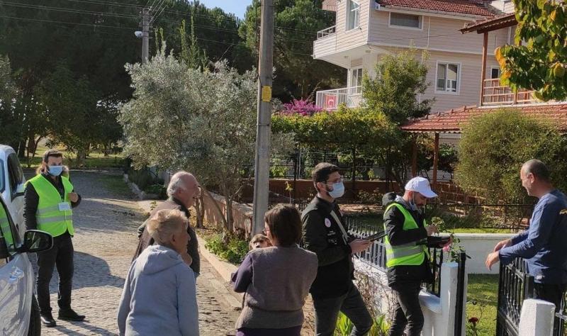 Bağlar Belediyesi'nden İzmir'deki deprem çalışmalarına teknik destek