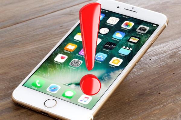 Bu noktaya dokunmayın! iPhone çöküyor!