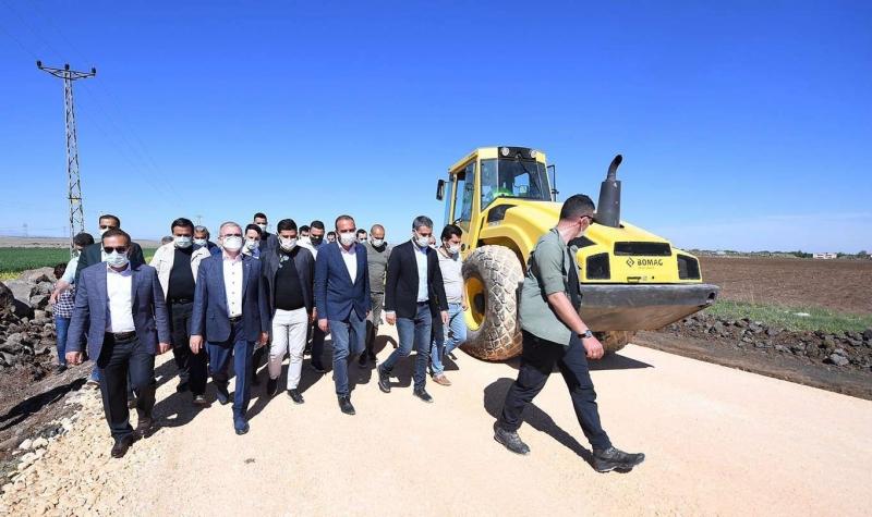 Diyarbakır kırsalında asfaltsız yol kalmayacak