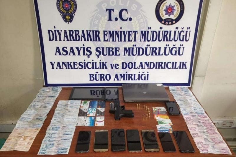 Diyarbakır merkezli dolandırıcılık operasyonu: 9 gözaltı