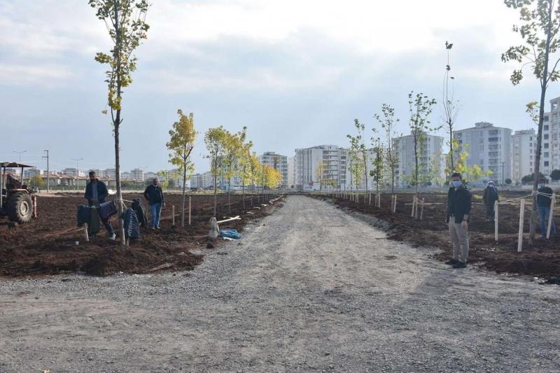 Diyarbakır'da 2 büyük parkın yapım çalışmaları devam ediyor