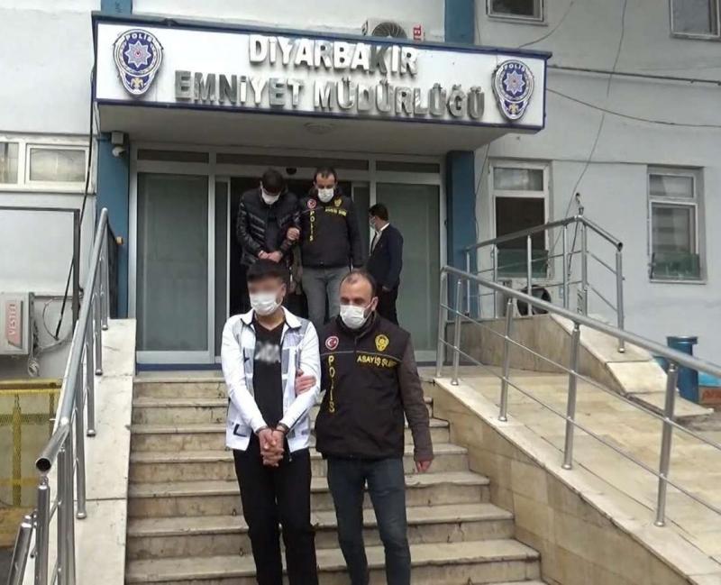 Diyarbakır'da 29 hırsızlık olayına karıştığı iddia edilen 14 şüpheli yakalandı