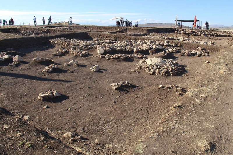 Diyarbakır'da 5 bin yıllık sandık tipi mezar bulundu