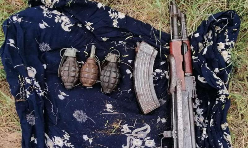 Diyarbakır'da esrar ve mühimmat ele geçirildi