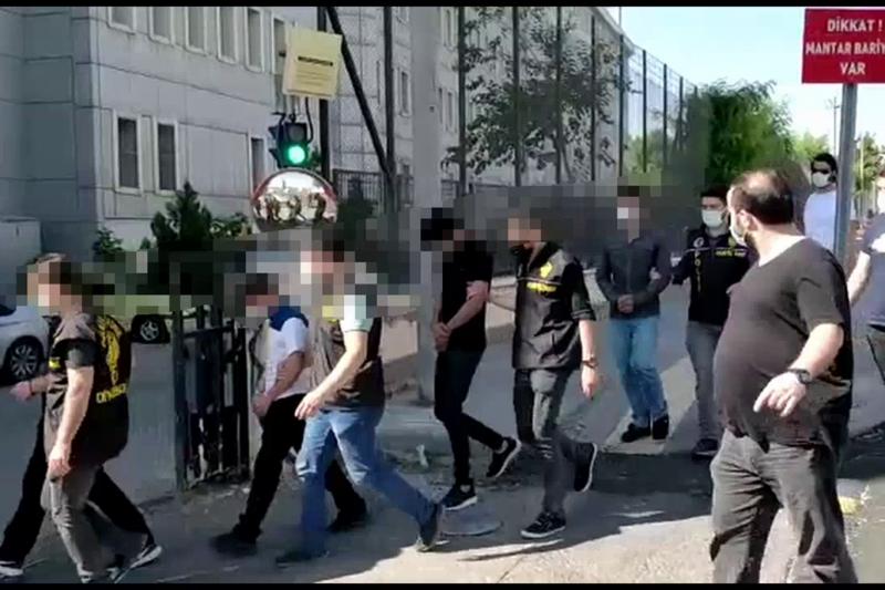 Diyarbakır'da kripto para dolandırıcılığı operasyonu: 5 tutuklama