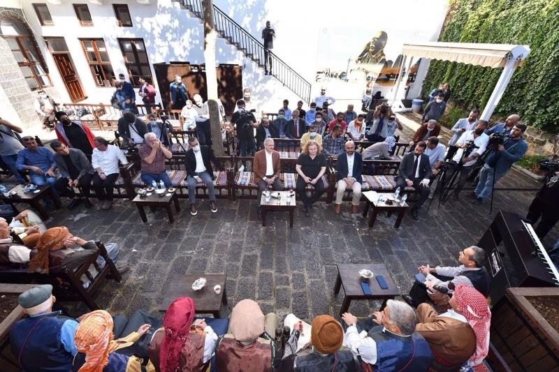 Diyarbakır'da piyano ile klam buluştu