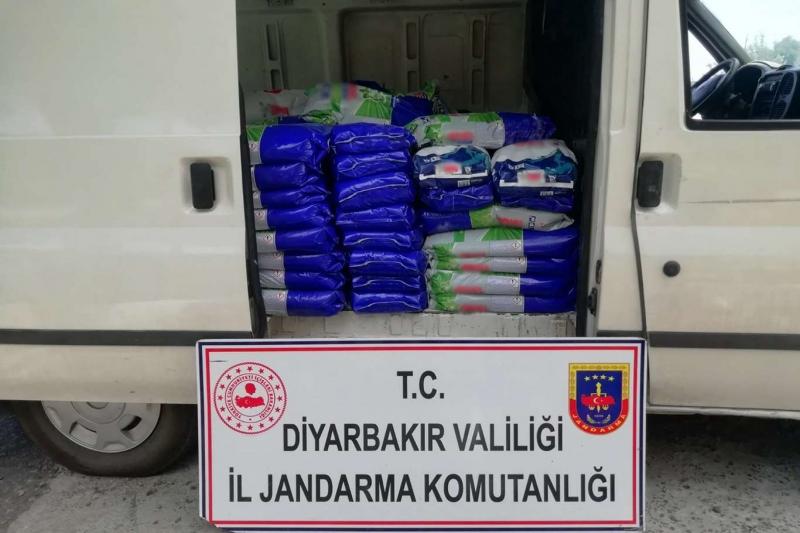 Diyarbakır'da sahte deterjan ele geçirildi