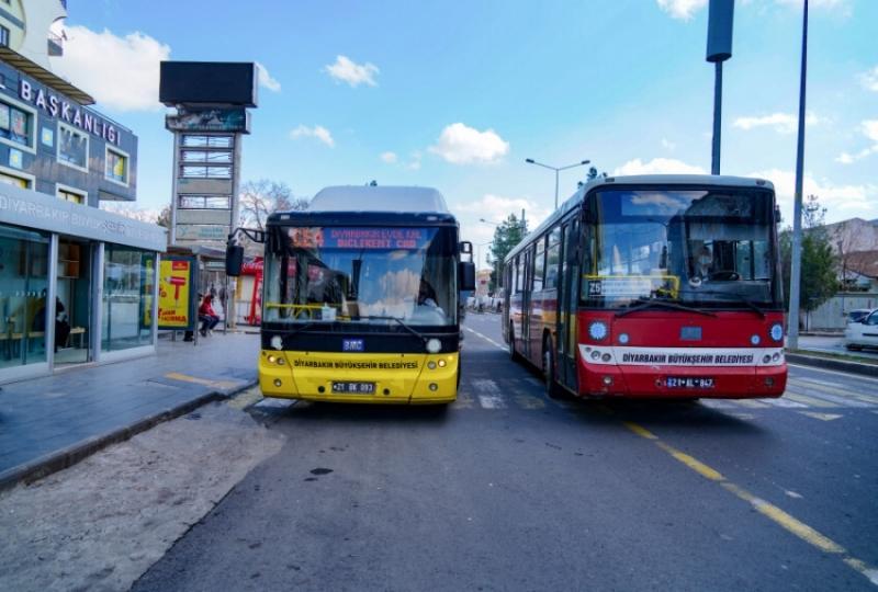 Diyarbakır'da toplu taşımalar bayramda ücretsiz olacak