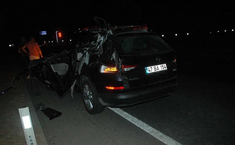 Diyarbakır'da trafik kazası: 1 ölü 3 yaralı
