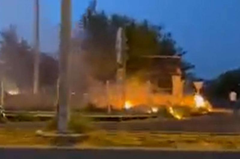 Diyarbakır'da yangın çıkarmaya çalışan 4 şüpheli tutuklandı