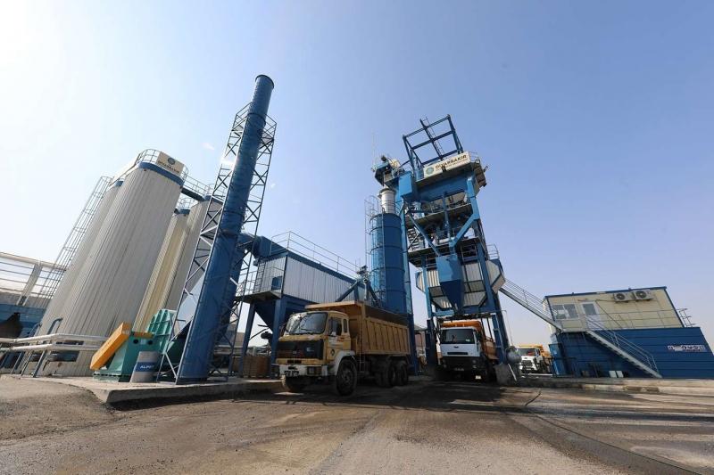 Diyarbakır'da yeni alınan asfalt plenti ile 826 bin TL tasarruf sağlandı