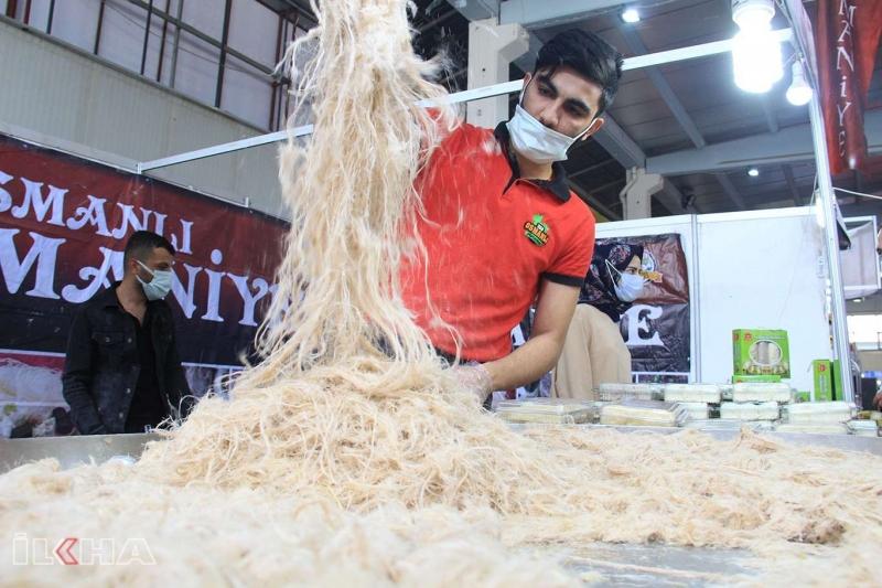Diyarbakır'daki tarım fuarı kültürel lezzetleri bir araya getirdi