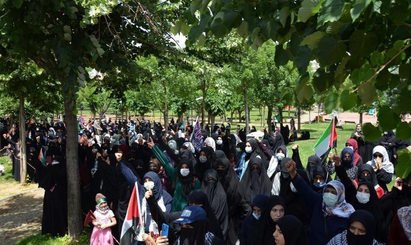 Diyarbakırlılar Filistin'in zaferini sevinçle karşıladı