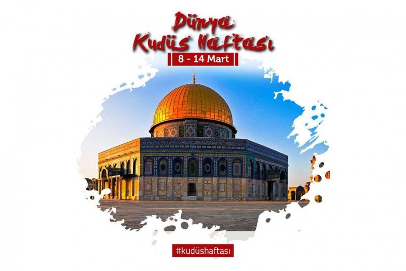 Dünya Müslüman Âlimler Birliğinden 'Dünya Kudüs Haftası' çağrısı