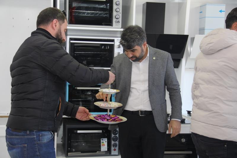 HÜDA PAR Diyarbakır İl Başkanı Dinçten Bismil esnafına ziyaret