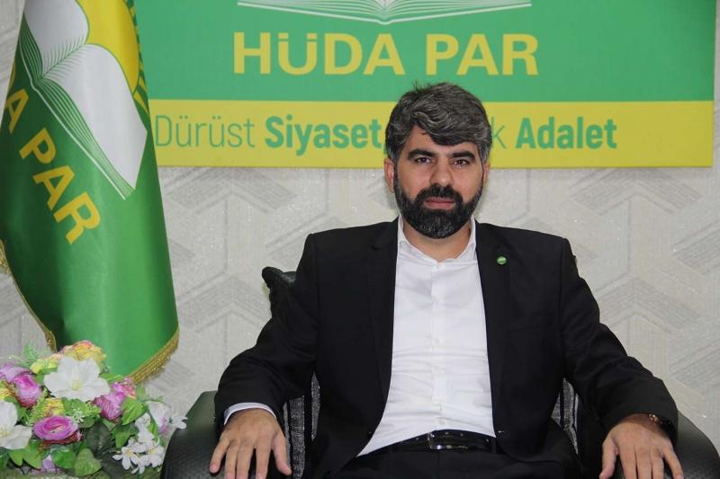 HÜDA PAR Diyarbakır İl Başkanı Dinç: