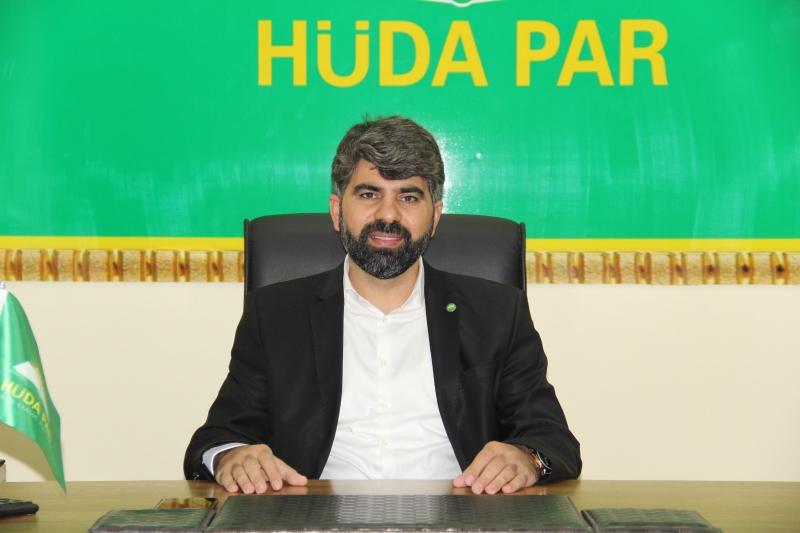 HÜDA PAR Diyarbakır İl Başkanı Dinç'ten MHRS sistemine tepki