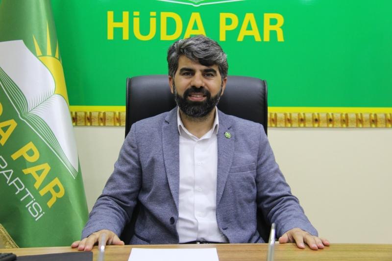 HÜDA PAR Diyarbakır İl Başkanı Dinç: Vatandaşın sağlığı üzerinden tasarruf yapmayın!