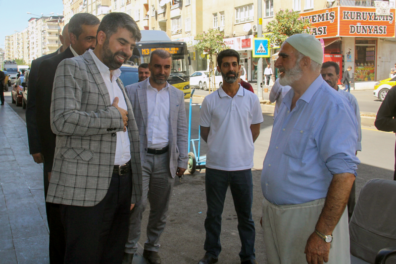 HÜDA PAR Diyarbakır İl Başkanı Dinç: DEDAŞ yaşattığı mağduriyetlere son vermeli!