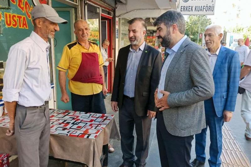 HÜDA PAR Diyarbakır İl Başkanı Dinç: Zincir marketleri küçük esnafın belini büküyor