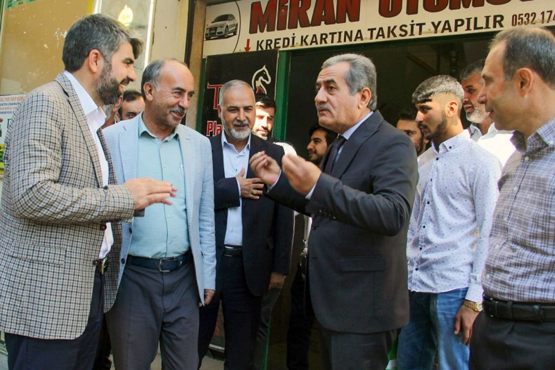 HÜDA PAR Diyarbakır İl Başkanı Dinç: Bismil'e sahip çıkan yok!