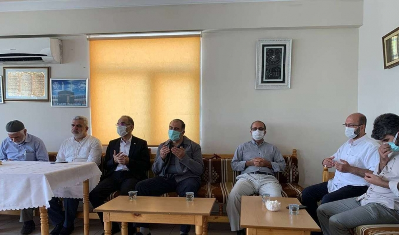 HÜDA PAR Genel Başkan Vekili Sağlam'dan, Fidancı ailesine taziye ziyareti