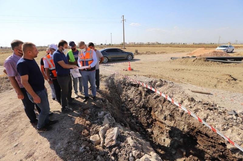 Kayapınar'a yeni kanalizasyon şebekesi