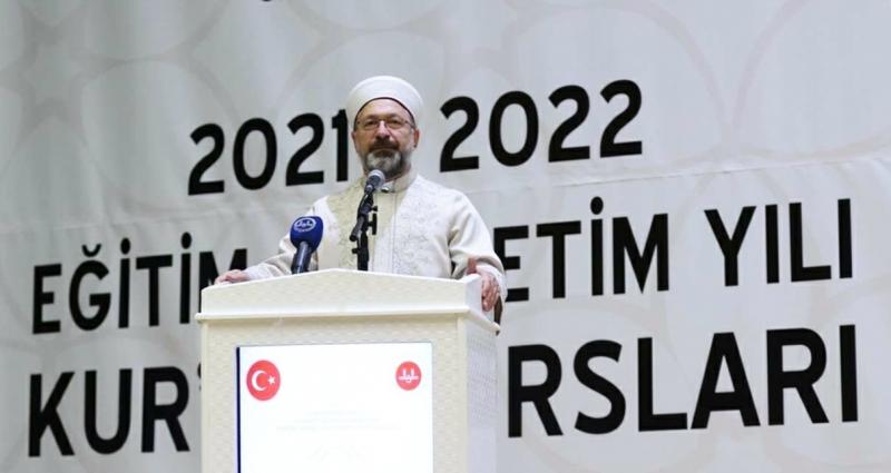 Kur'an kursları yeni eğitim öğretim yılı açılış programı düzenlendi