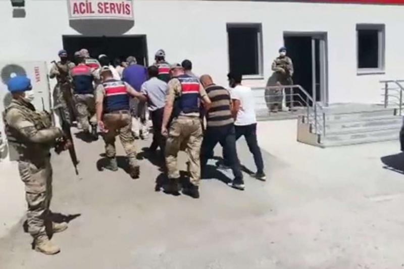 PKK operasyonunda bir kişi tutuklandı