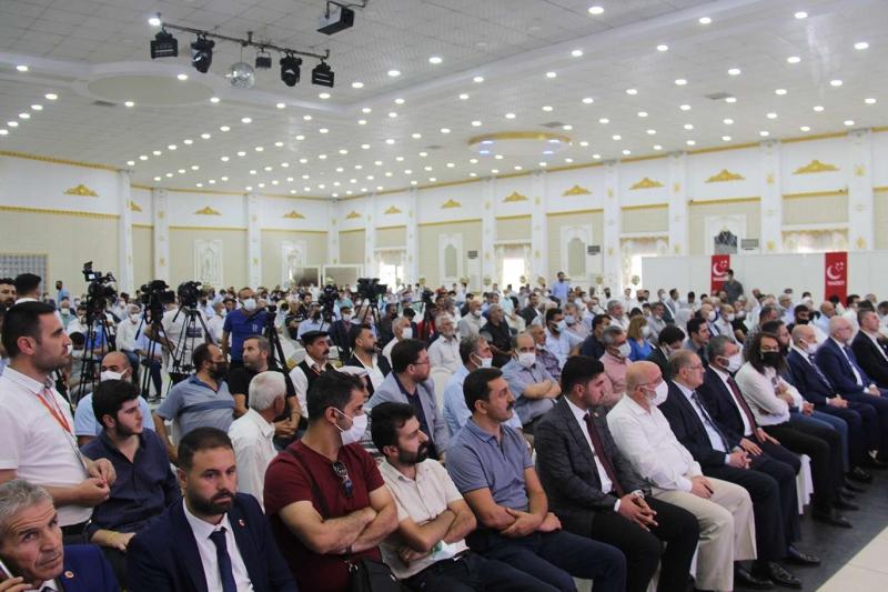 Saadet Partisi Diyarbakır 7'nci olağan il kongresi yapıldı