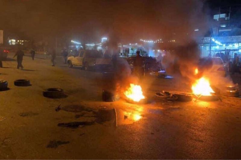 Süleymaniye'de KDP, GORAN ve KOMAL parti binaları ateşe verildi