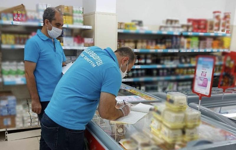 Tüketim tarihi geçen ürünler imha edildi